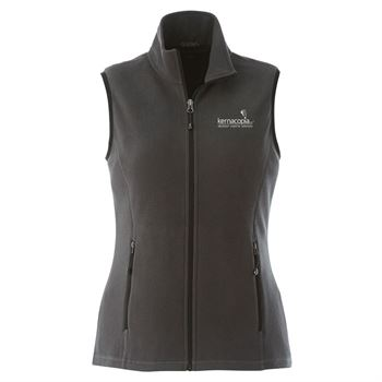 Women's Tyndall Polyfleece Vest - Embroidery Personalization Available