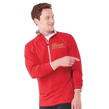 Men's Knew Knit Half Zip Top - Embroidery Personalization Available