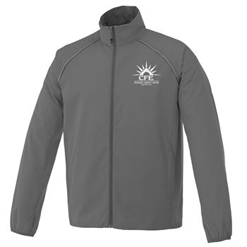 Elevate® Men's Egmont Packable Jacket - Embroidery Personalization Available