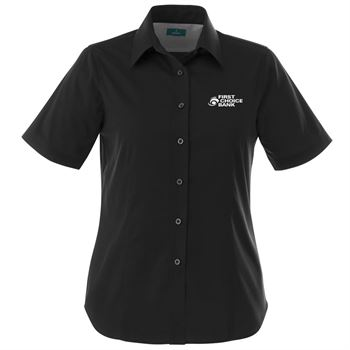 Women's Stirling Short Sleeve Shirt - Embroidery Personalization Available