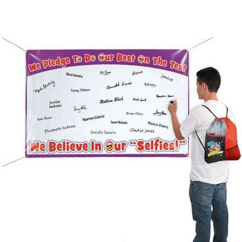 We Believe In Our Selfie's Pledge Banner
