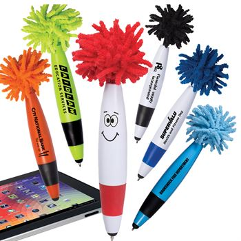 Mop Topper™ Jr. Pen With Stylus - Personalization Available