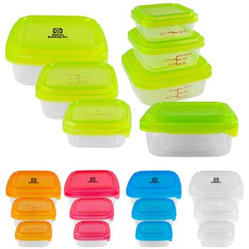 Portion Control Containers - Personalization Available