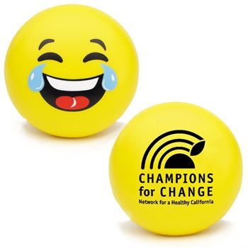 LOL Emoji Squeezies® Stress Reliever - Personalization Available