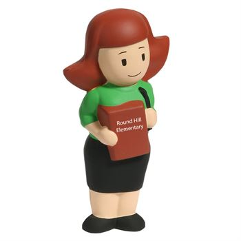 Female Teacher Stress Reliever - Personalization Available