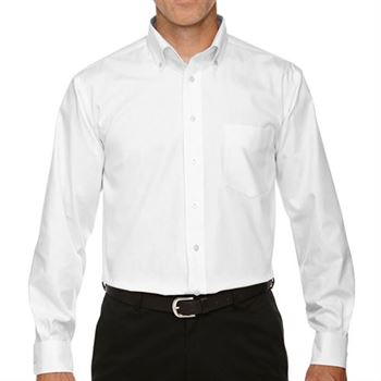 Devon & Jones Men's Crown Collection ™ Solid Oxford