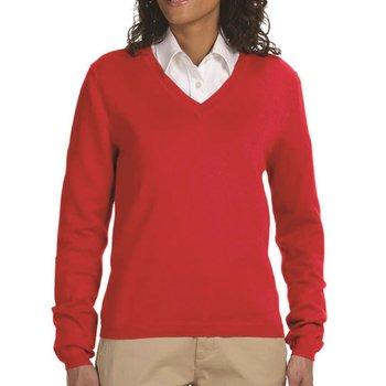Devon & Jones Women's V-Neck Sweater
