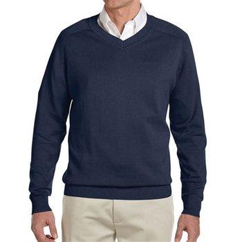 Devon & Jones Men's V-Neck Sweater