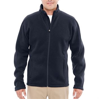 Devon & Jones Men's Bristol Sweater Fleece Full-Zip