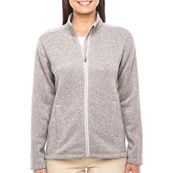 Devon & Jones Men's Bristol Sweater Fleece Full-Zip