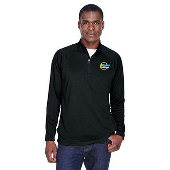 Devon & Jones® Men's Stretch Tech-Shell® Compass Quarter-Zip - Embroidery Personalization Available