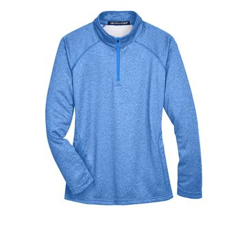 Devon & Jones Women's Stretch Tech-Shell ® Compass Quarter-Zip