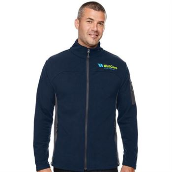 North End® Men's Microfleece Jacket - Embroidery Personalization Available
