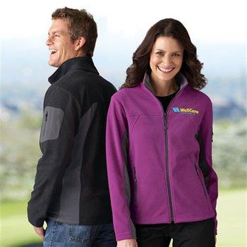 North End Men's Microfleece Jacket