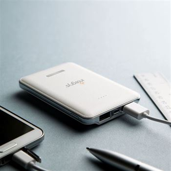 5,000 mAh Dual Port Power Bank