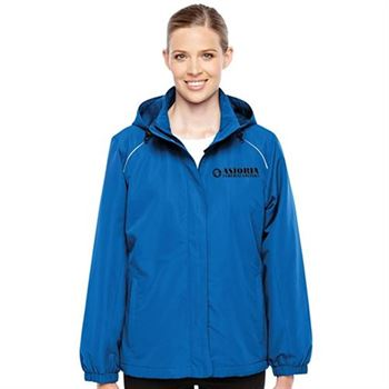 Core 365™ Women's Profile Fleece-Lined All-Season Jacket - Embroidery Personalization Available