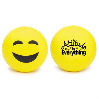 Attitude is Everything Happy Face Emoji Squeezies® Stress Reliever