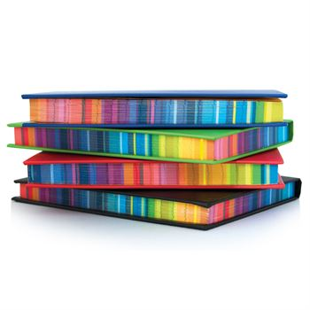 Surrealist Color Edge Notebook