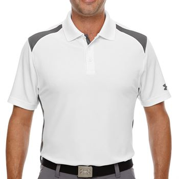 Under Armour® Men's Team Colorblock Polo - Personalization Available