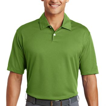 Nike® Golf Men's Dri-Fit Pebble Textured Polo - Personalization Available