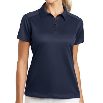 Nike® Golf Ladies Dri-Fit Pebble Textured Polo - Personalization Available