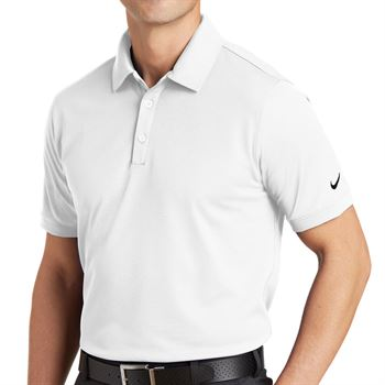 Nike® Golf Dri-Fit Men's Solid Icon Pique Modern Fit Polo - Personalization Available