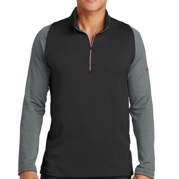 Nike® Golf Dri-FIT Stretch 1/2-Zip Cover-Up - Personalization Available