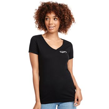 Next Level® Ladies' Ideal V-Neck Tee - Personalization Available