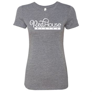 Next Level® Ladies' Tri-Blend Crew T-Shirt - Personalization Available
