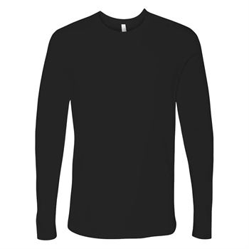 b46ce576ed24 Next Level Men's Premium Fitted Long-Sleeve Crew Tee - Personalization  Available