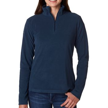 Columbia Ladies' Crescent Valley 1/4-Zip Fleece - Personalization Available