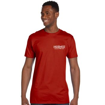Hanes® Men's 4.5 oz. 100% Ringspun Cotton Nano-T® T-Shirt - Personalization Available