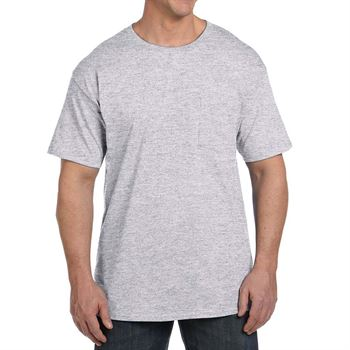 Hanes Unisex 6.1 oz. Beefy-T® With Pocket - Personalization Available