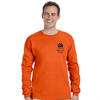 53965224eb23eb Fruit Of The Loom® 5-oz.,100% Heavy Cotton HD® Long-Sleeve T-Shirt -  Personalization Available | Positive Promotions