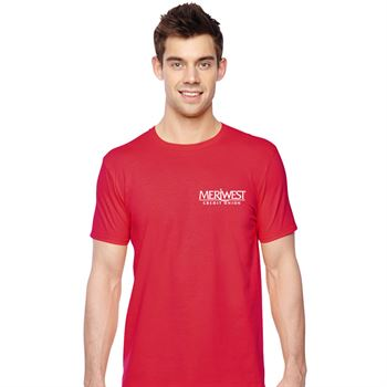 Fruit Of The Loom® 4.7-oz., 100% Sofspun™ Cotton Jersey Crew T-Shirt - Personalization Available