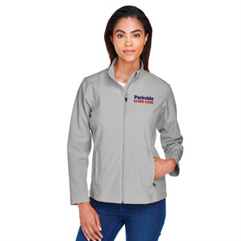 Team 365® Leader Women's Soft Shell Jacket - Personalization Available