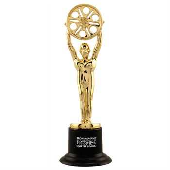 Gold Movie Award Statue - Personalization Available