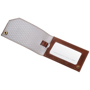 Cutter & Buck® Bainbridge Luggage Tag - Personalization Available