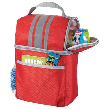 Double Compartment Lunch Bucket Cooler - Personalization Available