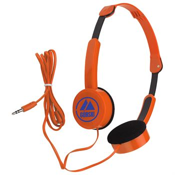 Stereo Headphones - Personalization Available