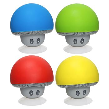 Upbeat Mini Mushroom Bluetooth &red; Speaker