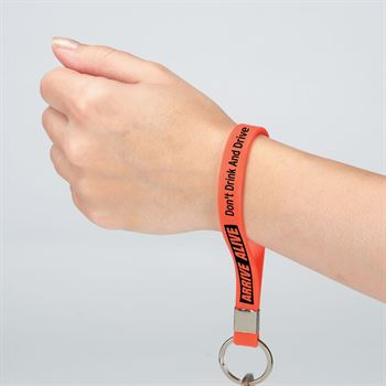Arrive Alive: Don't Drink And Drive Key Tag Bracelet