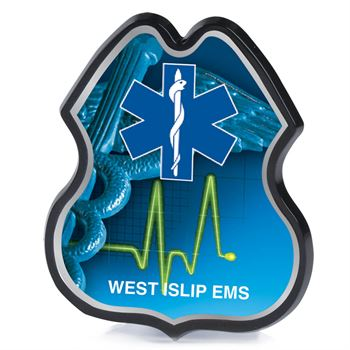 EMS Plastic Badge - Personalization Available