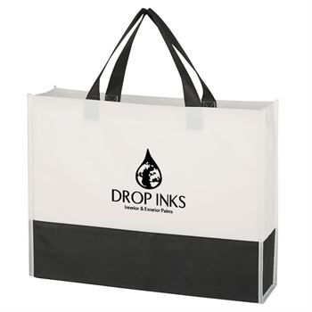 Non-Woven Prism Tote Bag - Personalization Available