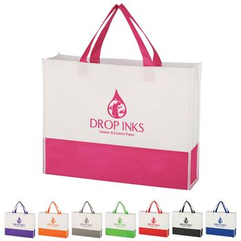 7021fc45c8 Non-Woven Prism Tote Bag - Personalization Available