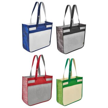 Sedona Laminated Shopper Tote - Personalization Available