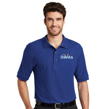 Port Authority® Mens Silk Touch™ Short-Sleeve Polo - Personalization Available
