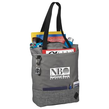 Hayden Zippered Convention Tote - Personalization Available