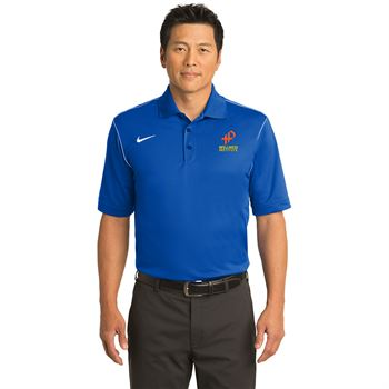 Nike® Men's Dri-Fit Sport Swoosh Pique Polo - Personalization Available