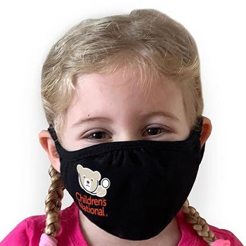 Youth Next Level CVC Recycle Mask - Full-Color Personalization Available
